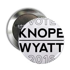 "Knope/Wyatt 2016 Campaign 2.25"" Button"