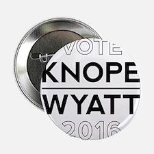 "Knope/Wyatt 2016 Campaign 2.25"" Button"