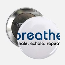 "Cute Breathe 2.25"" Button"