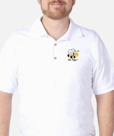 Bee Happy Golf Shirt