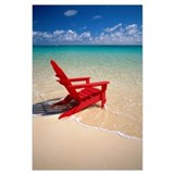 Adirondack chair Wrapped Canvas Art