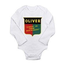 Oliver Tractor Long Sleeve Infant Bodysuit