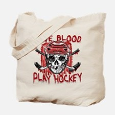 Give Blood Hockey Red Tote Bag