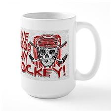 Give Blood Hockey Red Mug