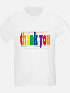 Thank You Greeting Card T-Shirt