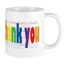 Thank You Greeting Card Mug