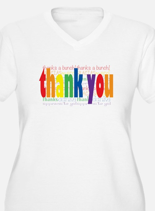 Thank You Greeting Card T-Shirt
