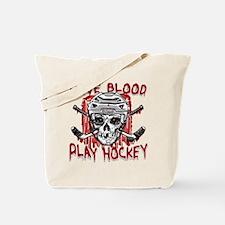 Give Blood Hockey White Tote Bag