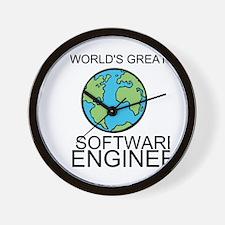 Worlds Greatest Software Engineer Wall Clock