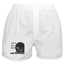 Mountain Mudd Dawgs logo Boxer Shorts