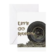 Mountain Mudd Dawgs logo Greeting Card