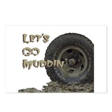 Mountain Mudd Dawgs logo Postcards (Package of 8)