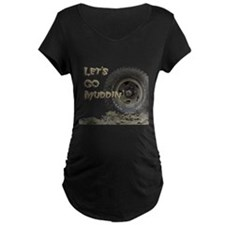 Mountain Mudd Dawgs logo Maternity T-Shirt