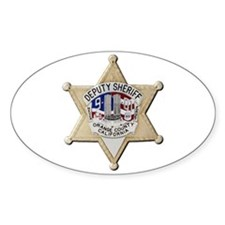 Orange County Sheriff 9-11 Decal