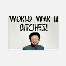 WW III Bitches! Rectangle Magnet (10 pack)