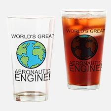Worlds Greatest Aeronautical Engineer Drinking Gla
