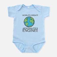 Worlds Greatest Aeronautical Engineer Body Suit