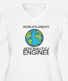 Worlds Greatest Aeronautical Engineer Plus Size T-