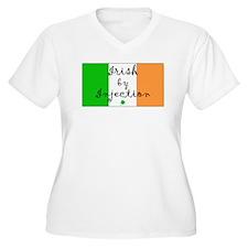 Irish by Injection.... Plus Size T-Shirt
