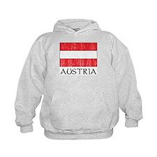 Austria Flag Hoodie