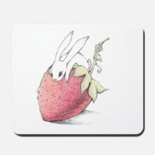 Strawberry Bunny Mousepad