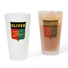 Oliver Tractor Drinking Glass