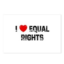 I * Equal Rights Postcards (Package of 8)