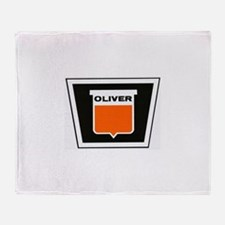oliver newer Throw Blanket