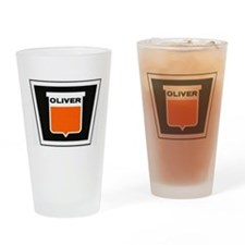 oliver newer Drinking Glass
