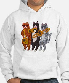 Cat Brass Section Hoodie