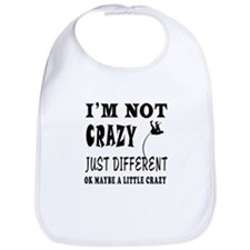 I'm not Crazy just different Pole Vault Bib