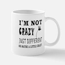 I'm not Crazy just different Pole Vault Mug