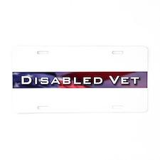 Unique Korea veteran Aluminum License Plate