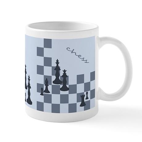 Chess King and Pieces Mug