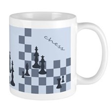 Chess King and Pieces Mug