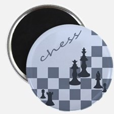 """Chess King and Pieces 2.25"""" Magnet (100 pack)"""