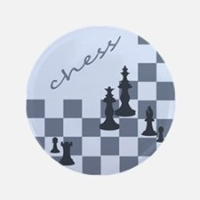 """Chess King and Pieces 3.5"""" Button (100 pack)"""