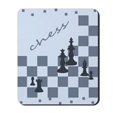 Chess King and Pieces Mousepad