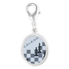 Chess King and Pieces Charms