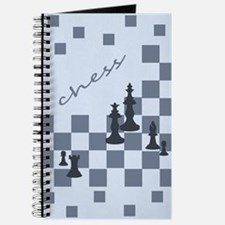 Chess King and Pieces Journal