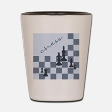 Chess King Pieces Shot Glass