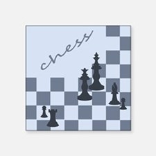 Chess King Pieces Sticker