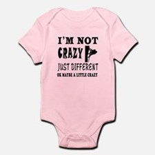 I'm not Crazy just different Rock Climbing Infant