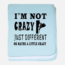I'm not Crazy just different Rock Climbing baby bl