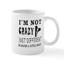 I'm not Crazy just different Rock Climbing Mug