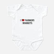 I * Farmers Markets Infant Bodysuit
