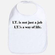 I.T. Not Just... Bib