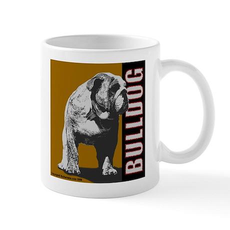 Bulldog Mug - Urban Bulldog II Design