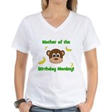 1st birthday Womens V-Neck T-shirts