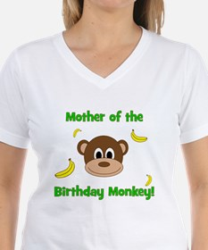 Mother of the Birthday Monkey! T-Shirt